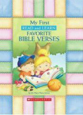 My First Read and Learn Favourite Bible Verses by Mary Manz Simon image