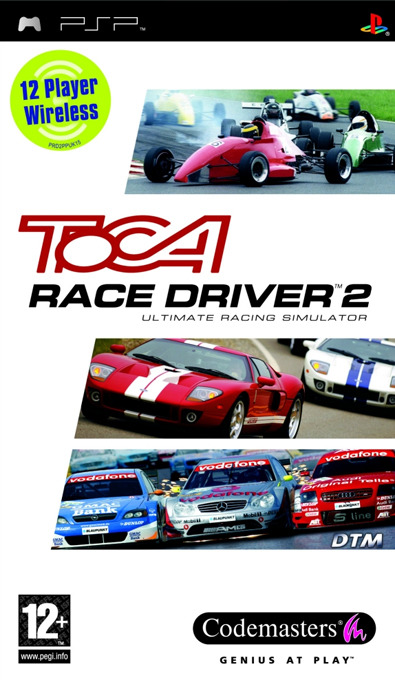 TOCA Race Driver 2 (AKA V8 Supercars 2) for PSP