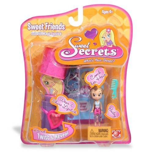 Sweet Secrets Fashion Doll and Lipstick Case: Bailey