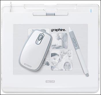 Wacom Graphire4 4x5 USB Tablet