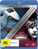 The Phantom of the Opera / Les Miserables on Blu-ray
