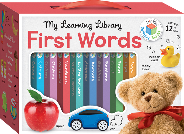 Building Blocks: Learning Library First Words Box