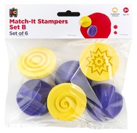 EC Colours - Match-it Pattern Stamper - Pack of 6 (Set B)