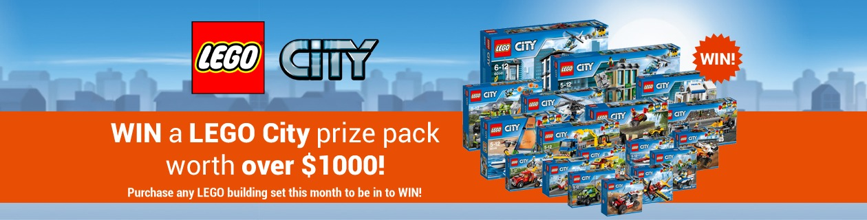 LEGO Prize Pack to WIN