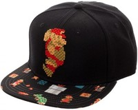 Mario: 8-Bit Sublimated - Snapback Cap