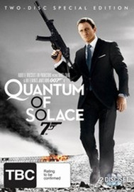 Quantum of Solace - Special Edition (2 Disc Set) on DVD