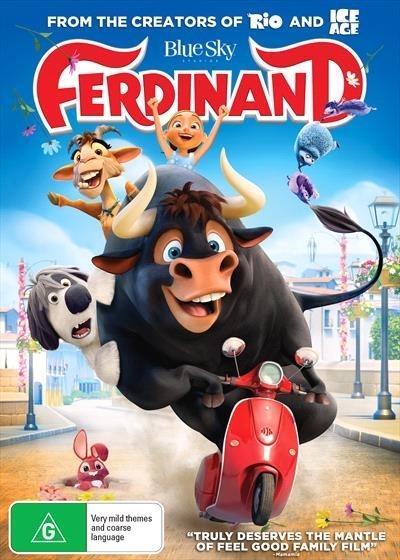 Ferdinand on DVD image