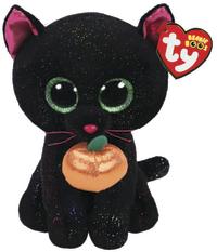 Ty Beanie Boo: Black Cat - Small Plush