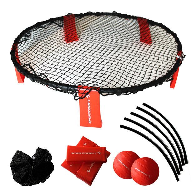 Sportcraft Volley Ball Slam Backyard Beach Game Set