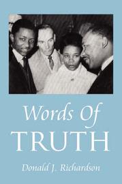 Words of Truth by Donald J Richardson (Registrar in Renal Medicine, St. James's University Hospital, Leeds) image