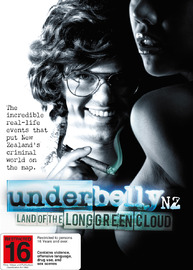 Underbelly NZ: Land of the Long Green Cloud DVD image