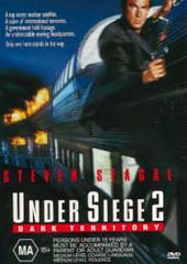 Under Siege 2 - Dark Territory on DVD
