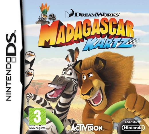 Madagascar Kartz for Nintendo DS