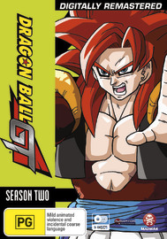 Dragon Ball GT Remastered Uncut Season 2 & Movie (5 Disc Set) on DVD