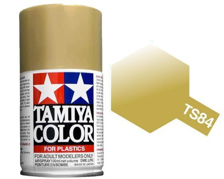 Tamiya TS-84 Metallic Gold - 100ml Spray Can image