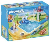 Playmobil: Childrens Pool with Whale Fountain