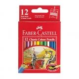 Faber Castell Classic: Full Colouring Pencil - Pack of 12