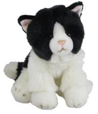 Antics: Black & White Cat - Sitting