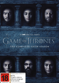 Game of Thrones - The Complete Season Six DVD