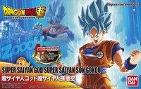 Dragon Ball Super: Son Goku (SS-Blue) - Figure-rise Model Kit