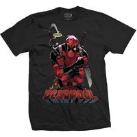 Marvel Comics Deadpool Gonna Die Mens Black TS (X Large) image