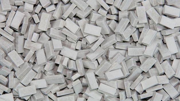 1:48 bricks (RF) grey mix (1,000 pcs.)