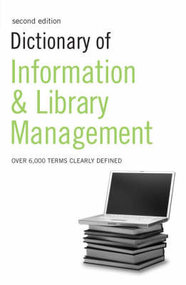 Dictionary of Information and Library Management by N/A image