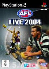 AFL Live 2004 for PS2