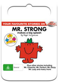 Mr Men & Little Miss: Mr Strong Makes A Big Splash on DVD
