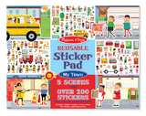 Reusable Sticker Pad My Town - Melissa & Doug