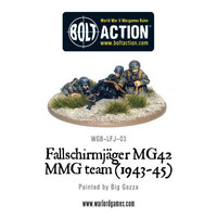 German Airborne - Fallschirmjager MG42 MMG Team
