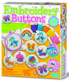 4M: Craft - Embroidery Buttons