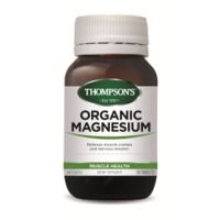 Thompsons Organic Magnesium (50 Tablets)
