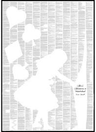 Spineless Classics Alice in Wonderland Print (50 x 70cm)