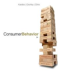 Consumer Behavior by Maria Cronley