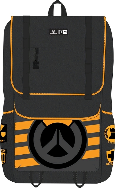 bb7fc512336 Loungefly  Overwatch - Logo Backpack