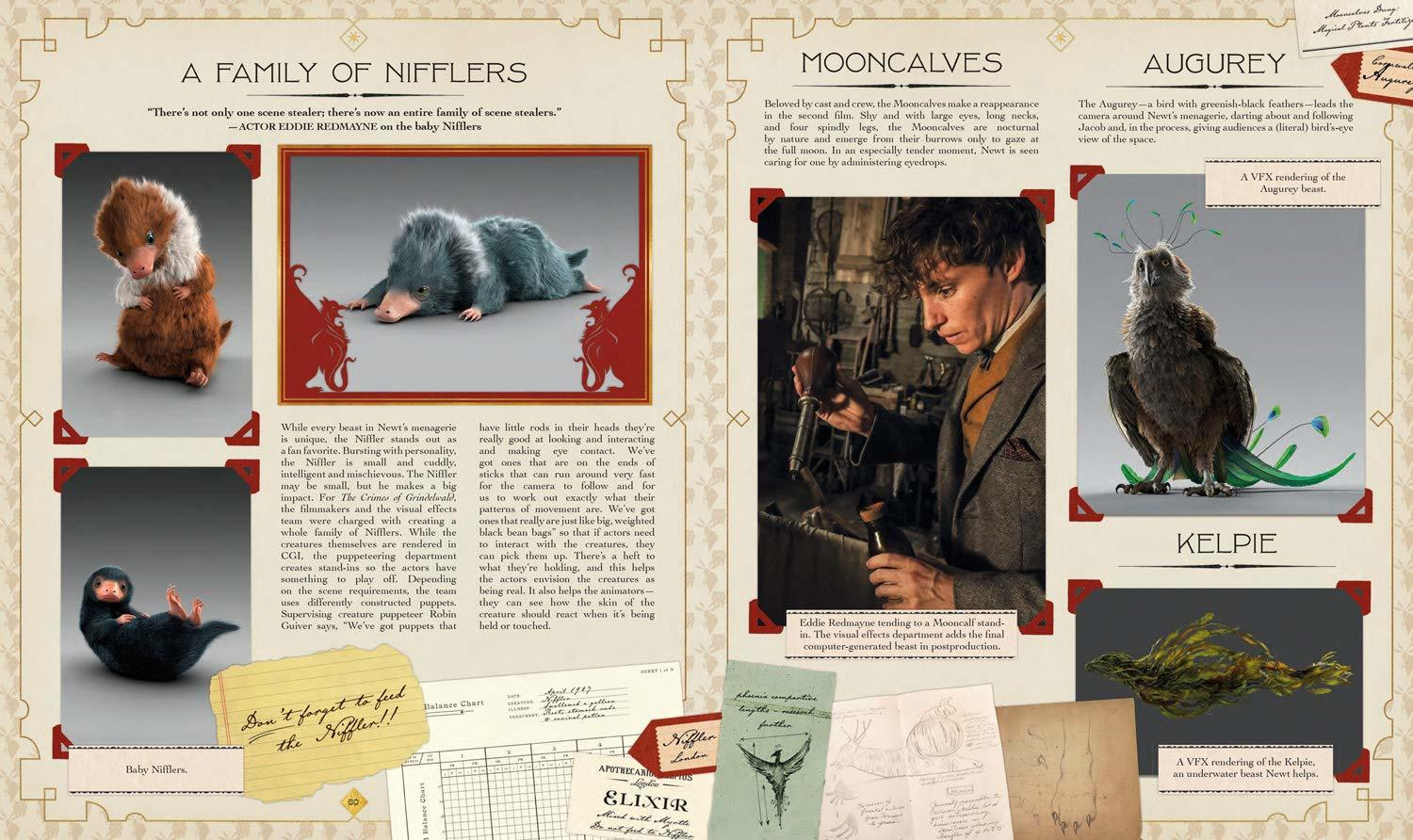 The Archive of Magic: the Film Wizardry of Fantastic Beasts: The Crimes of Grindelwald by Signe Bergstrom image