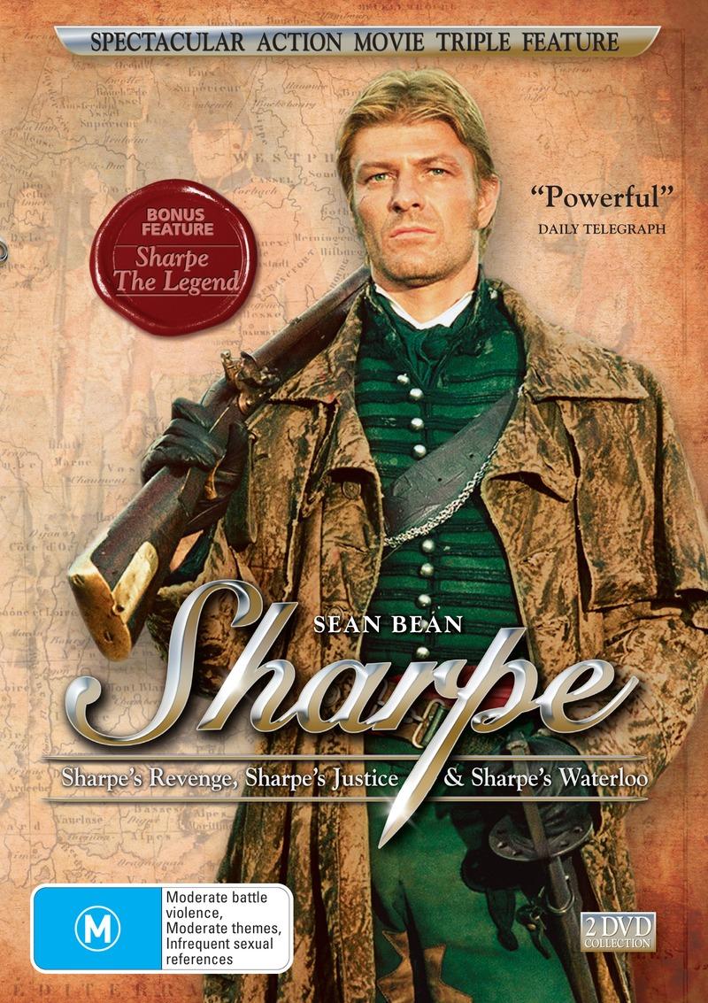 Sharpe's Revenge / Sharpe's Justice / Sharpe's Waterloo (2 Disc Set) on DVD image