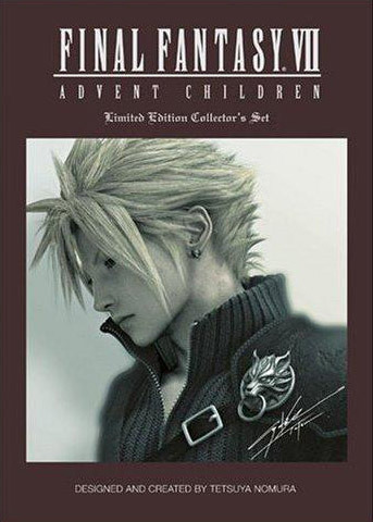 Final Fantasy VII Advent Children: Limited Edition Collector's Set on DVD