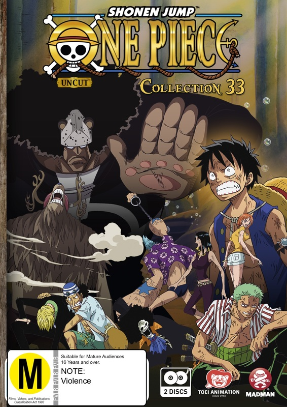 One Piece (Uncut) Collection 33 (Episodes 397-409) on DVD