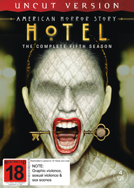 American Horror Story: Hotel - The Complete Fifth Season on DVD