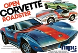 MPC: 1/25 1975 Chevy Corvette Convertible - Model Kit