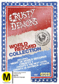 Crusty World First Collection (New Packaging) on DVD