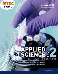 BTEC Level 2 First Applied Science Student Book by Patricia Rhodes image