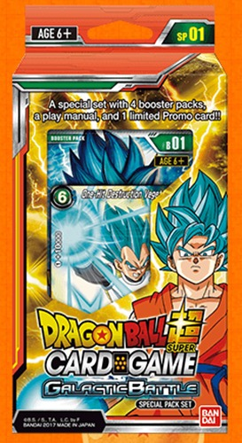 Dragon Ball Super TCG: Galactic Battle Special Pack image