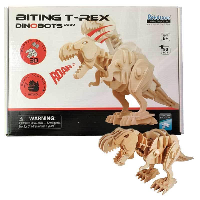 Robotime: Biting T-Rex image