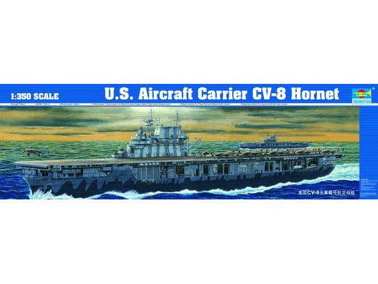 Trumpeter 1/350 U.S. CV-8 Hornet - Scale Model