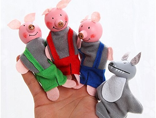 Fun Factory: Finger Puppets - Pigs