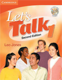 Let's Talk Student's Book 1 with Self-Study Audio CD: 1 by Leo Jones