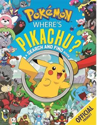 Where's Pikachu? A Search and Find Book by Pokemon